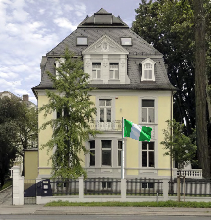 Nigeria Consulate General Frankfurt contact page